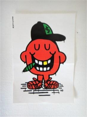 BAD ASS by Austin von NEW sticker