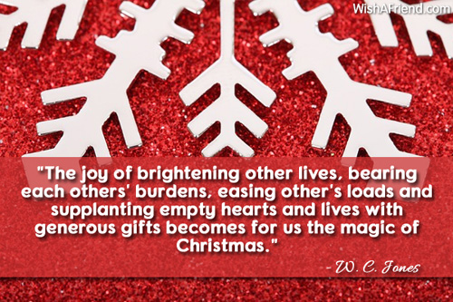 The Joy Of Brightening Other Lives Inspirational