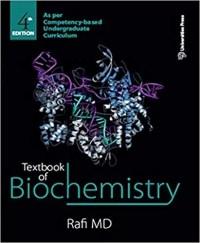 Textbook of Biochemistry 4th Edition MD Rafi