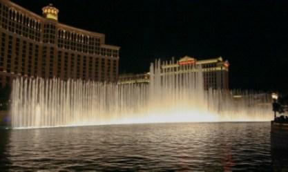 Bellagio Fountains, Las Vegas, Nevada