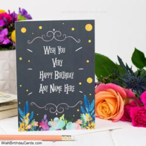Awesome Birthday Cards For Men With Name Online Greeting Card