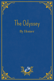 Book Cover of The Odyssey, by Homer