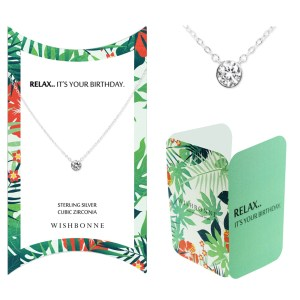 RELAX IT'S YOUR BIRTHDAY NECKLACE