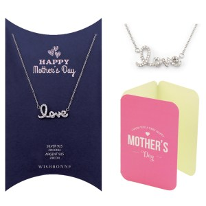 Mom Love Pendant Necklace