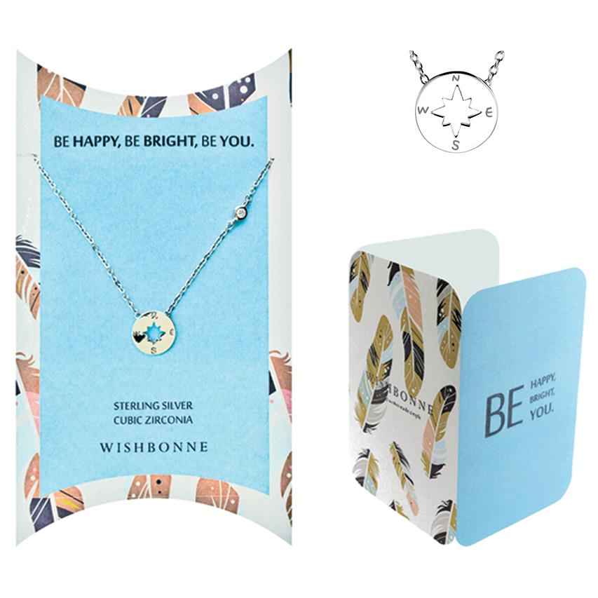 Positive Compass Necklace
