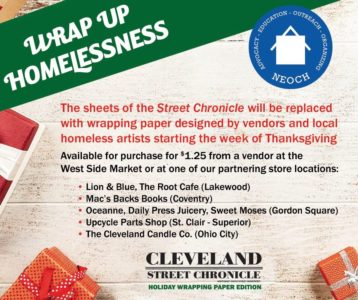"""Wrap Up Homelessness"" Campaign Celebrates The Talents of Homeless Artists in Cleveland"