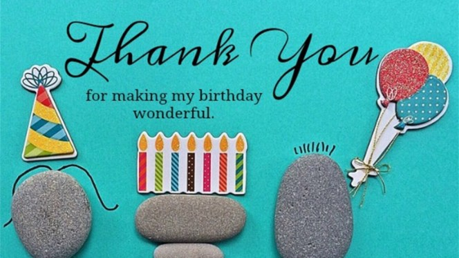 Birthday Thank You Messages
