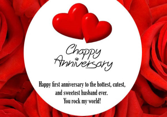 First-wedding-anniversary-wishes-for-husband