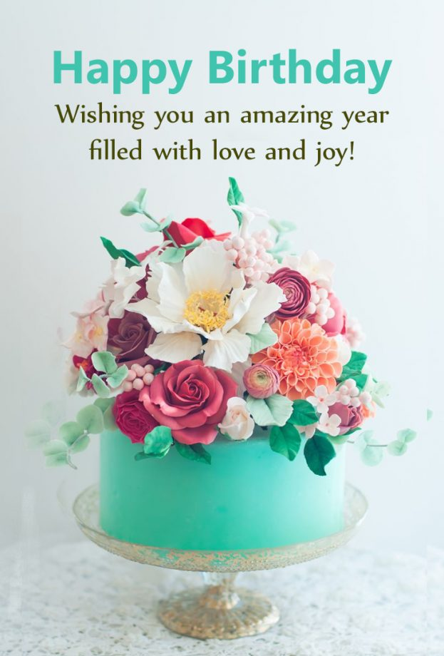 Beautiful Flowers For Birthday Wishes Happy Birthday Wishes Memes Sms Greeting Ecard Images