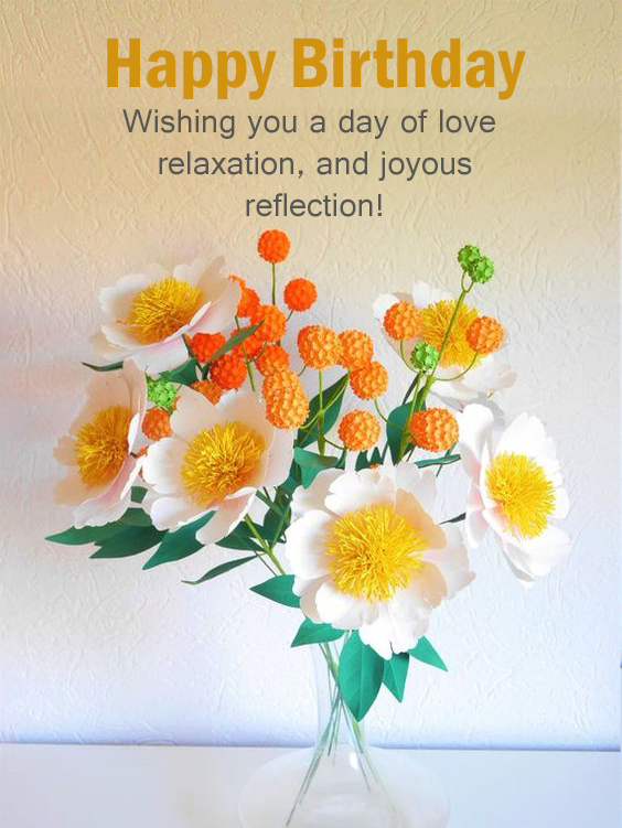 Happy Birthday Flower Messages Happy Birthday Wishes Memes Sms Greeting Ecard Images