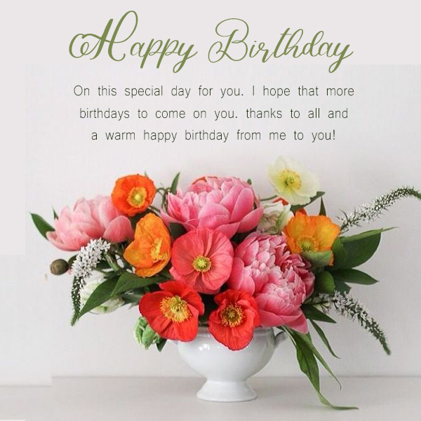 Happy Birthday Flowers Meme Happy Birthday Wishes Memes Sms Greeting Ecard Images