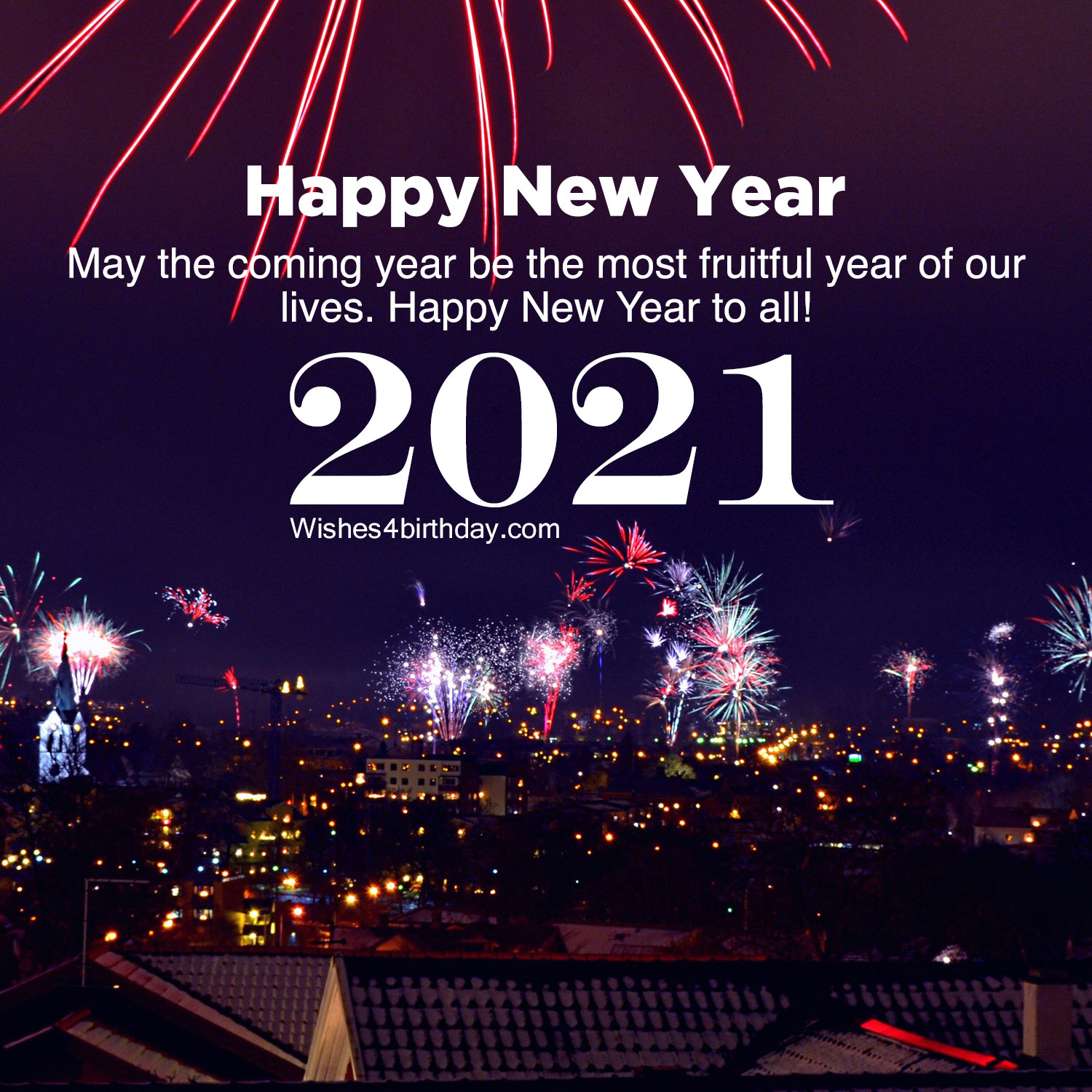 Happy New Year Images For An Amazing 2021 Happy Birthday Wishes Memes Sms Greeting Ecard Images