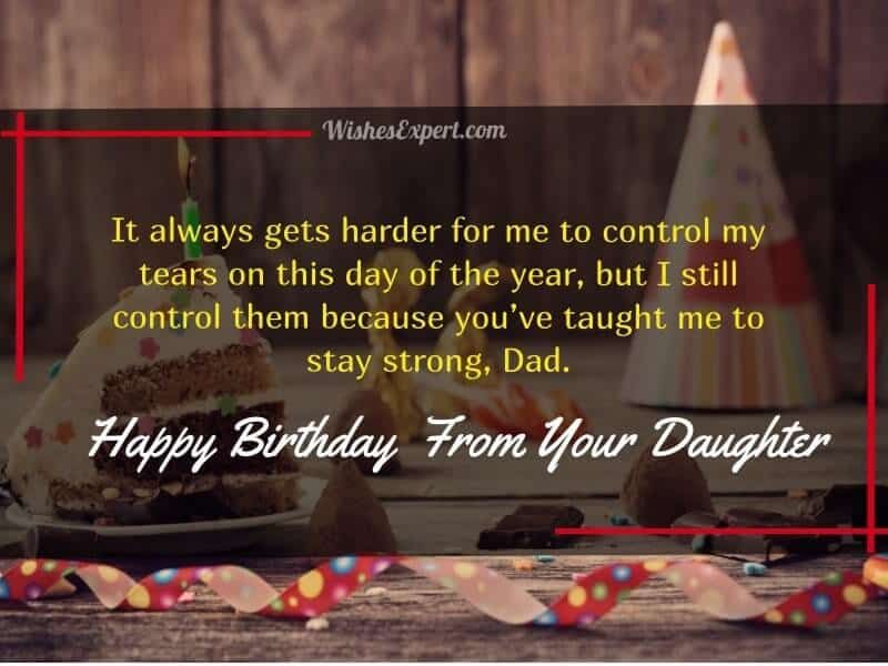25 Happy Birthday Dad From Daughter Quotes And Messages Wishes Expert