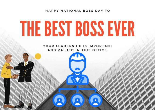 International Bosses Day Wishes