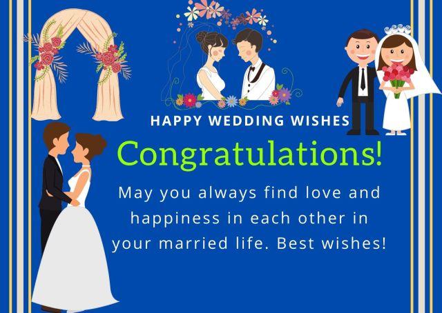 Best Happy Wedding Wishes