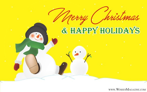Happy holidays wishes christmas holiday messages greetings merry christmas happy holiday m4hsunfo