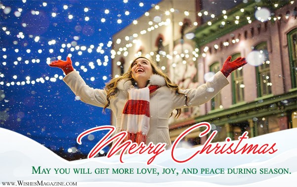 Merry Christmas Wishes | Christmas Greeting Card Messages