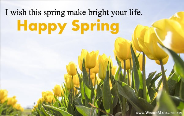 Happy Spring Wishes Messages