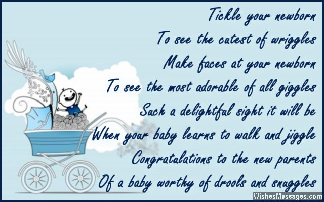 Congratulations For Baby Boy Newborn Wishes And Quotes Wishesmessages Com