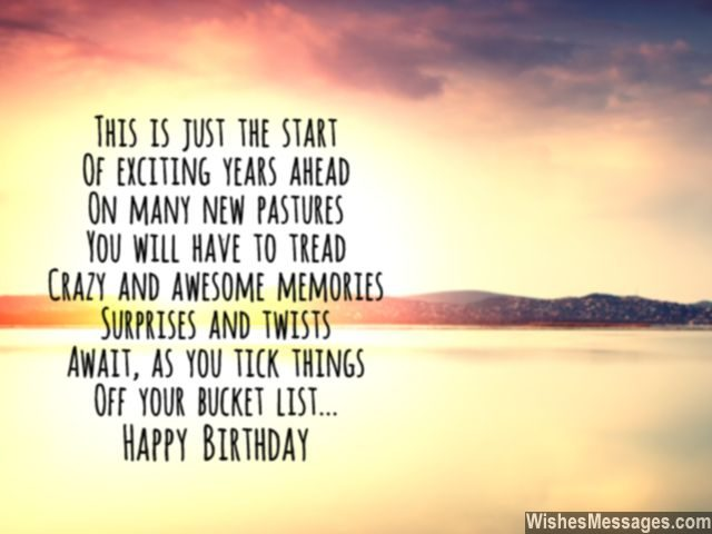 30th Birthday Poems Wishesmessages Com