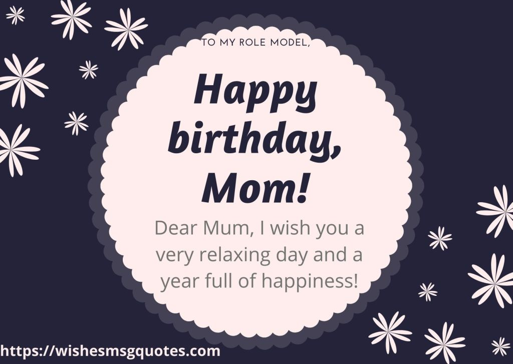 Birthday Messages For Mother