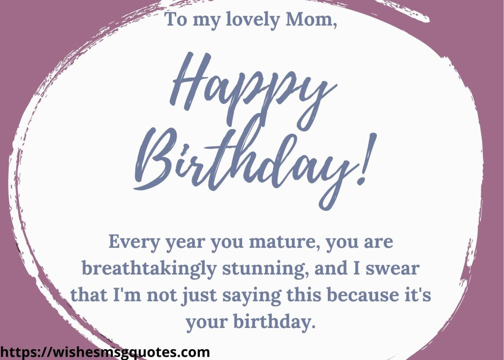 Inspirational Birthday Quotes For Mother
