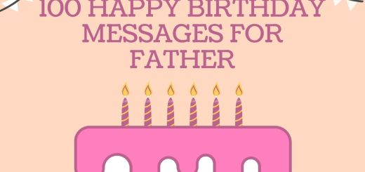 Happy Birthday Messages For Dad