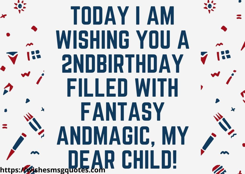 Cutest 2nd Birthday Wishes For Baby Boy From Mother