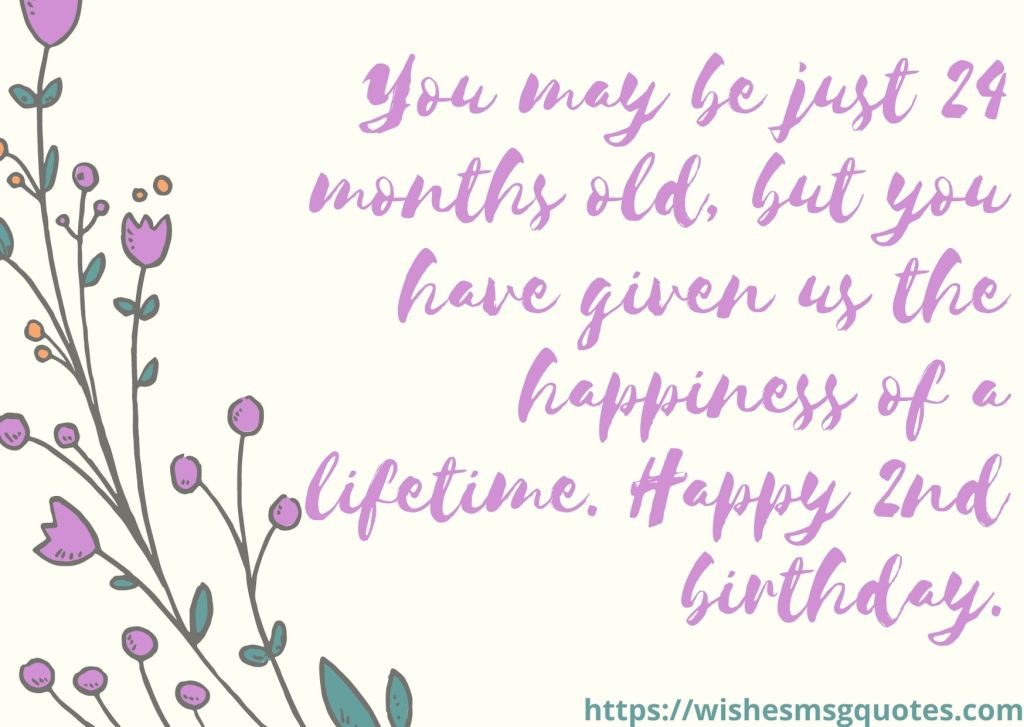 Birthday Messages For Baby Boy 2nd Birthday