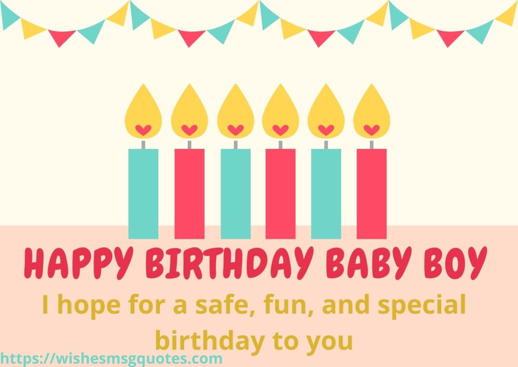 Happy 1st Birthday Wishes From Parents