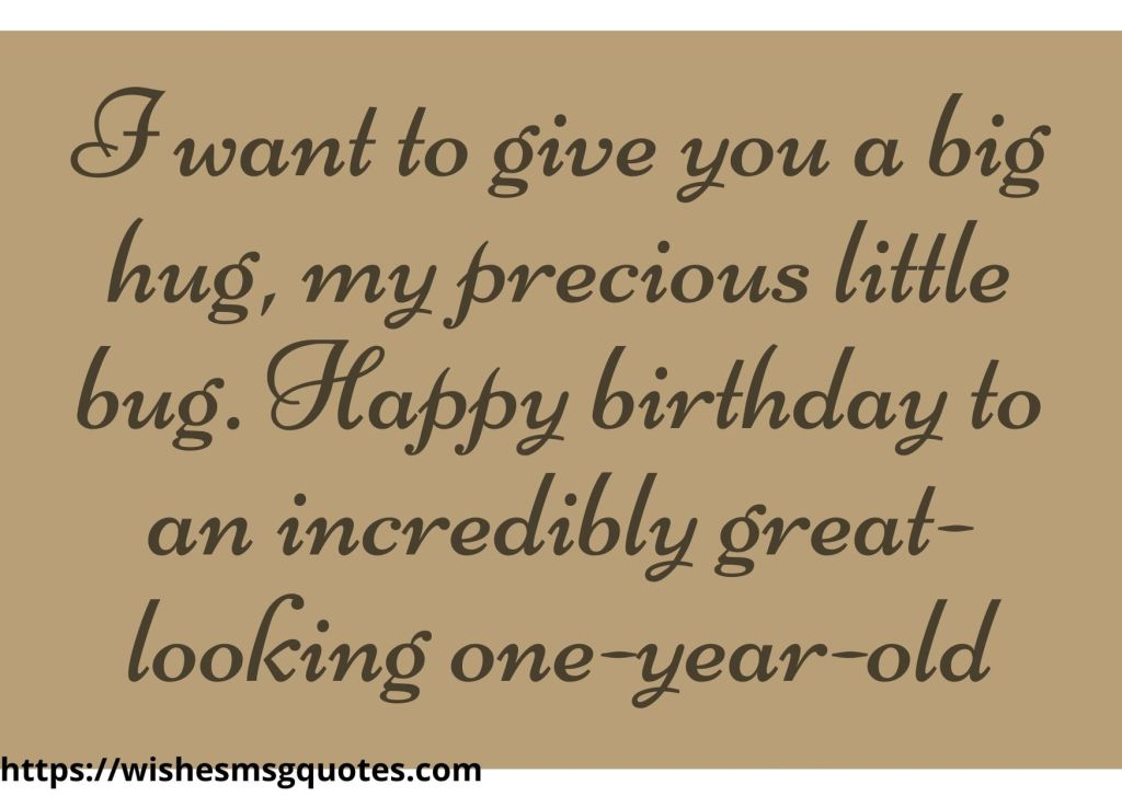 1st Birthday Quotes From Uncle To Baby Girl