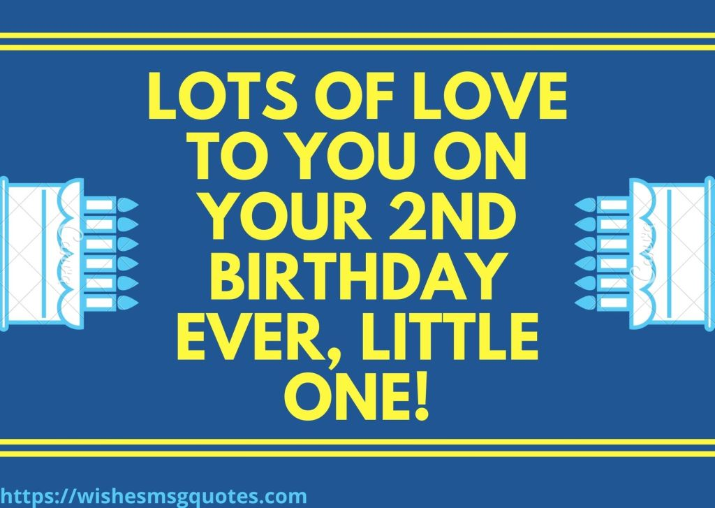 2nd Birthday Quotes From Grandmother To Baby Boy