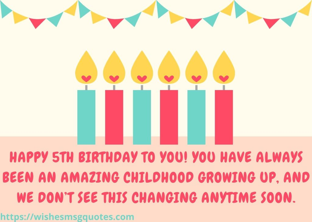 5th Birthday Quotes From Uncle To Boy