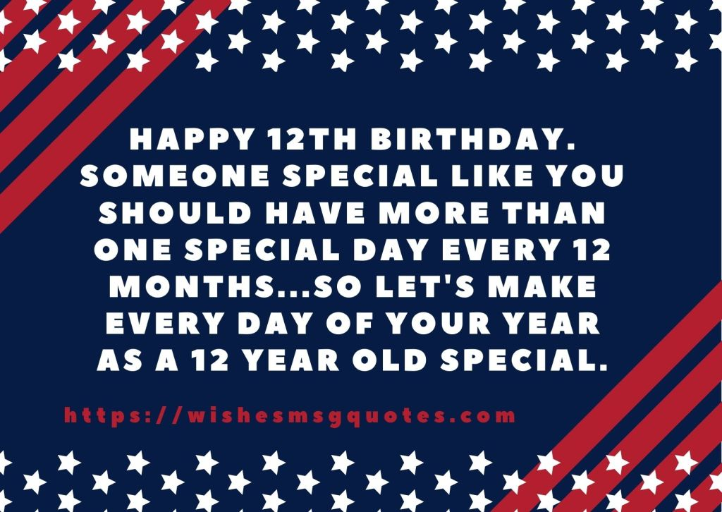 12th Birthday Quotes From Grandfather To Boy Or Girl