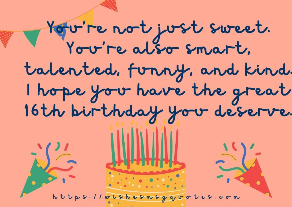 16th Birthday Quotes From Friend To Boy Or Girl