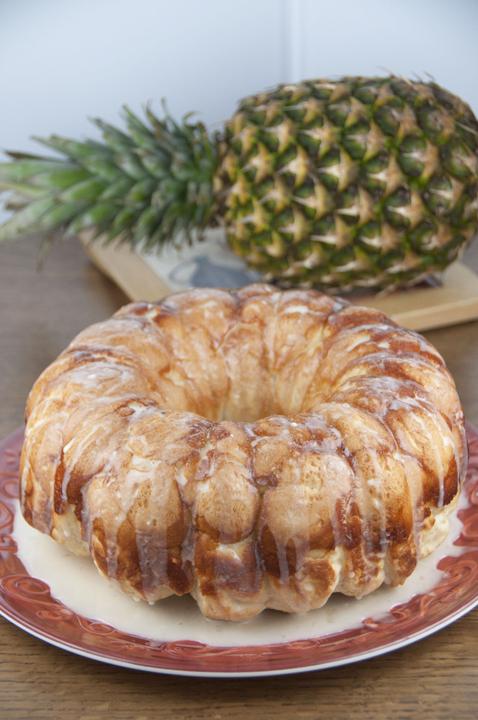 Hawaiian Bubble Bread {Wishes & Dishes}