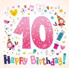 10th birthday wishes and greetings