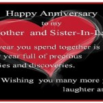 Anniversary Wishes For Brother And Sister In Law