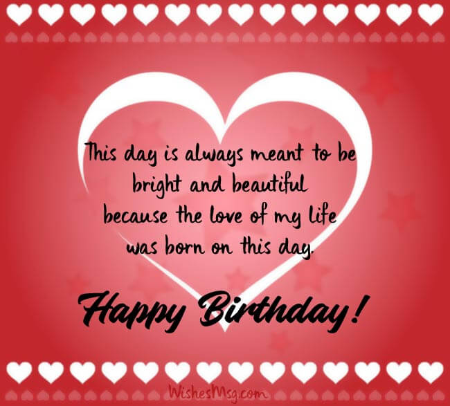 Birthday Wishes For Boyfriend With Quotes Messages 2021 Wishes Quotz