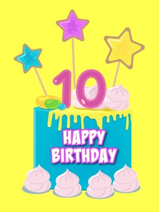 Happy 10th Birthday! | Wishes for a Special 10-year-old