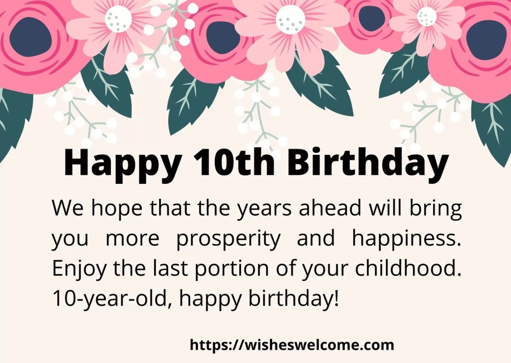 happy Birthday wishes for girls and boys