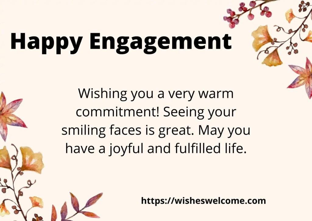 happy engagement friend
