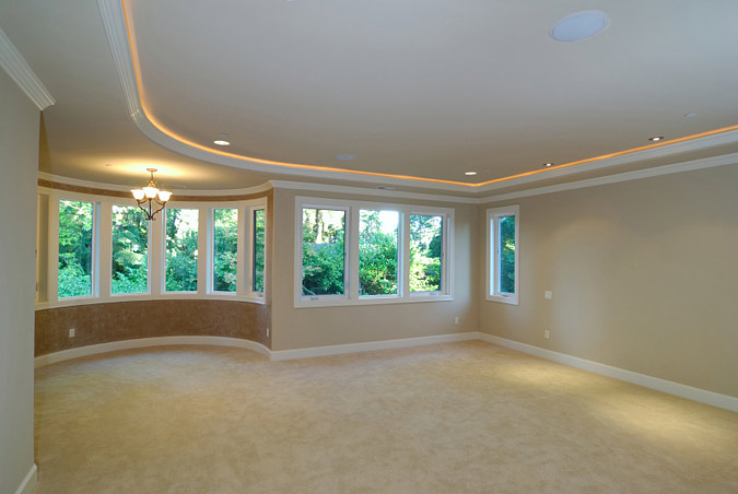 Lighted Crown Molding Design