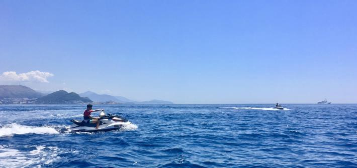 Two jet skis in Croatia