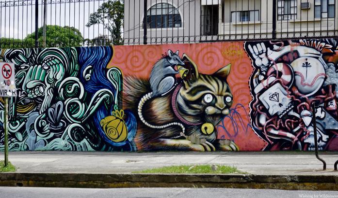 Graffiti in San José