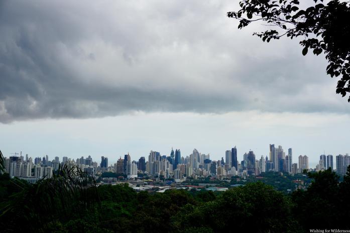 View of Panama City from Metropolitan Park