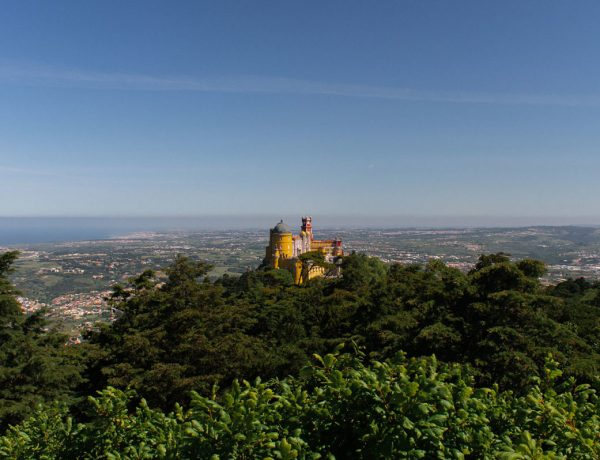 Pena Palace visiting Sintra from Lisbon