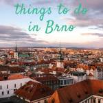 View of Brno old town