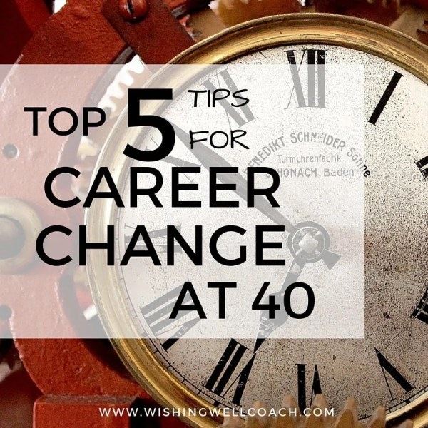 career change at 40