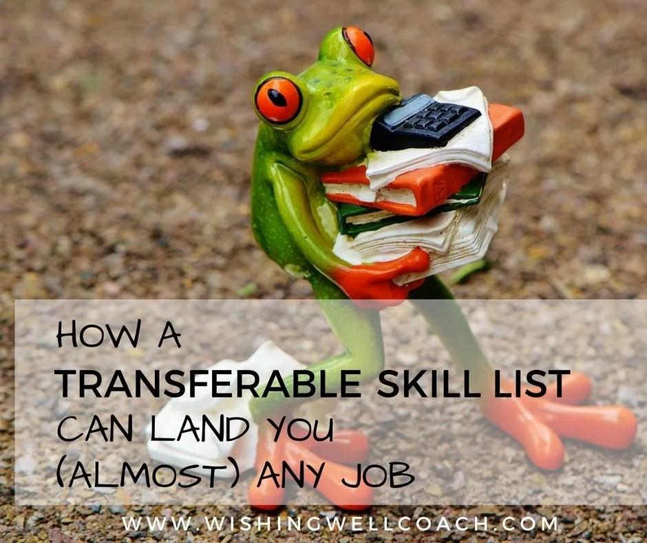 TRANSFERABLE SKILL LIST